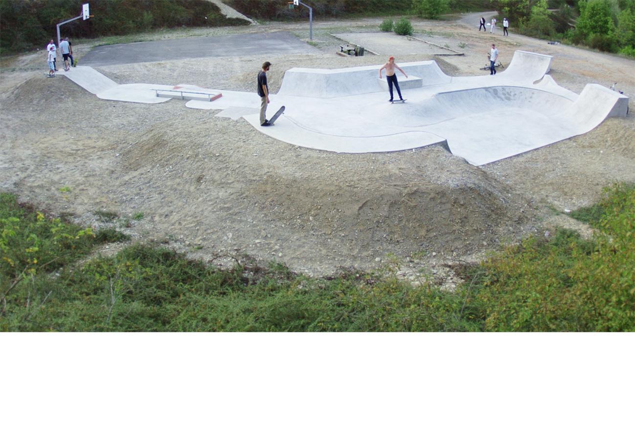 Skatepark de rixheim infos sur le projet for Piscine de rixheim